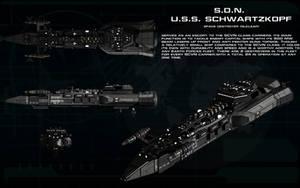 SDN USS Schwarzkopf ortho by unusualsuspex