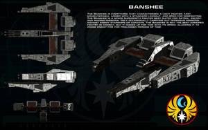 Wing Commander Banshee ortho by unusualsuspex