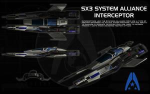 SX3 System Alliance Interceptor ortho by unusualsuspex