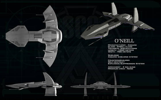 O'Neill class Asgard Mothership ortho