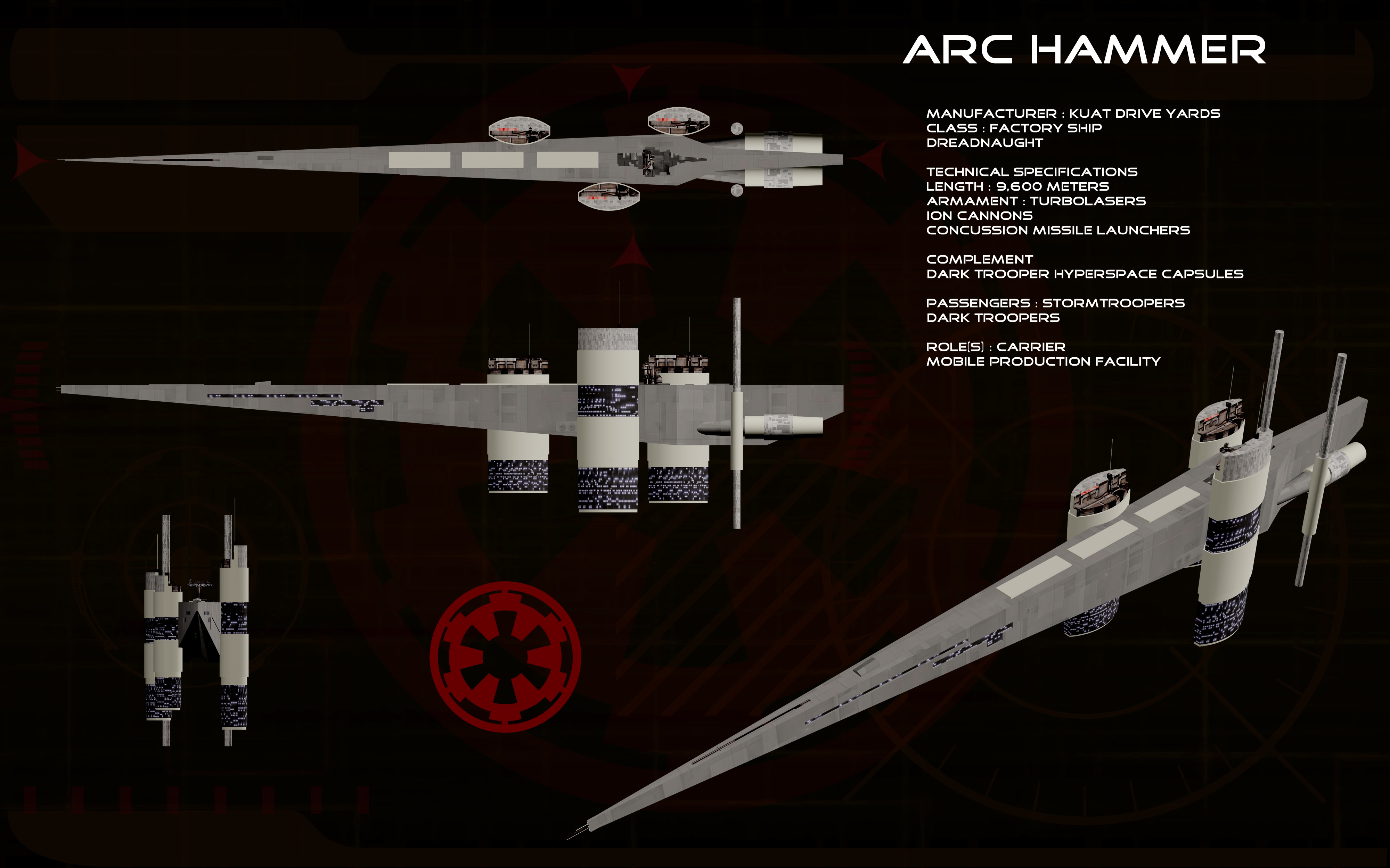 Arc Hammer ortho by unusualsuspex