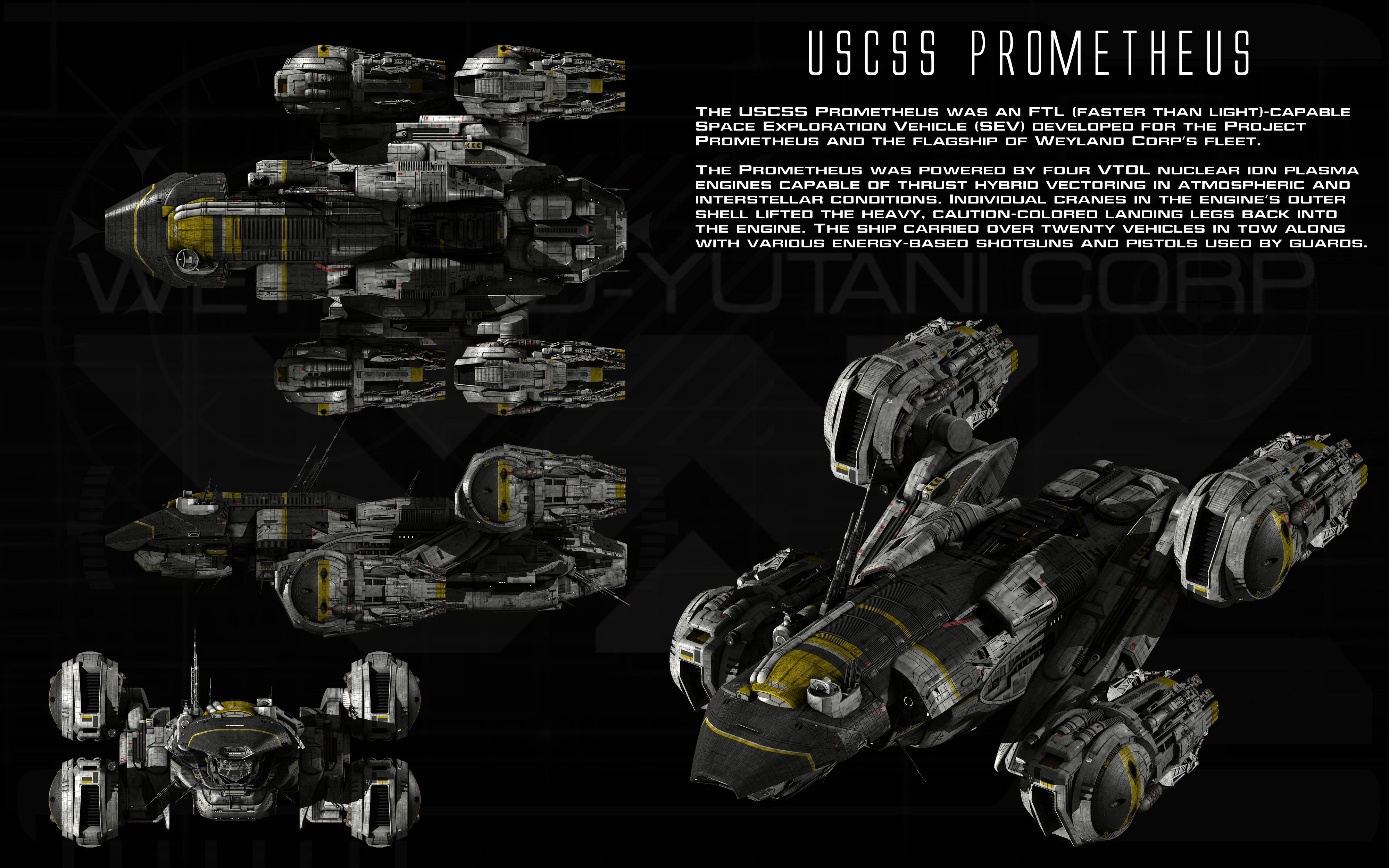 USCSS Prometheus ortho