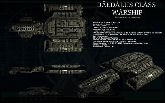 Daedalus class warship ortho