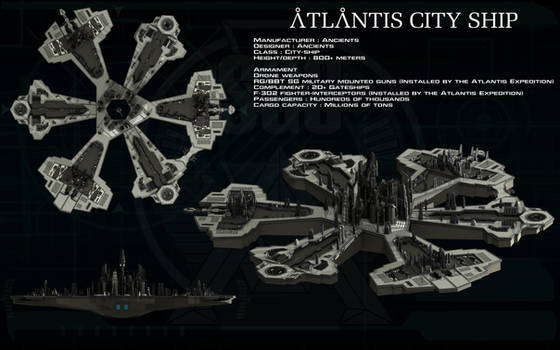 Atlantis city ship ortho