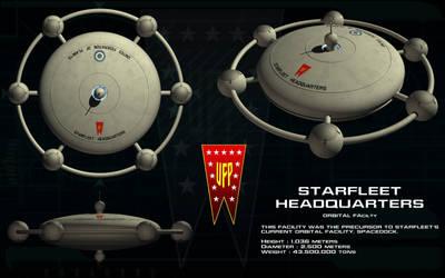 Starfleet HQ Orbital Facility ortho by unusualsuspex