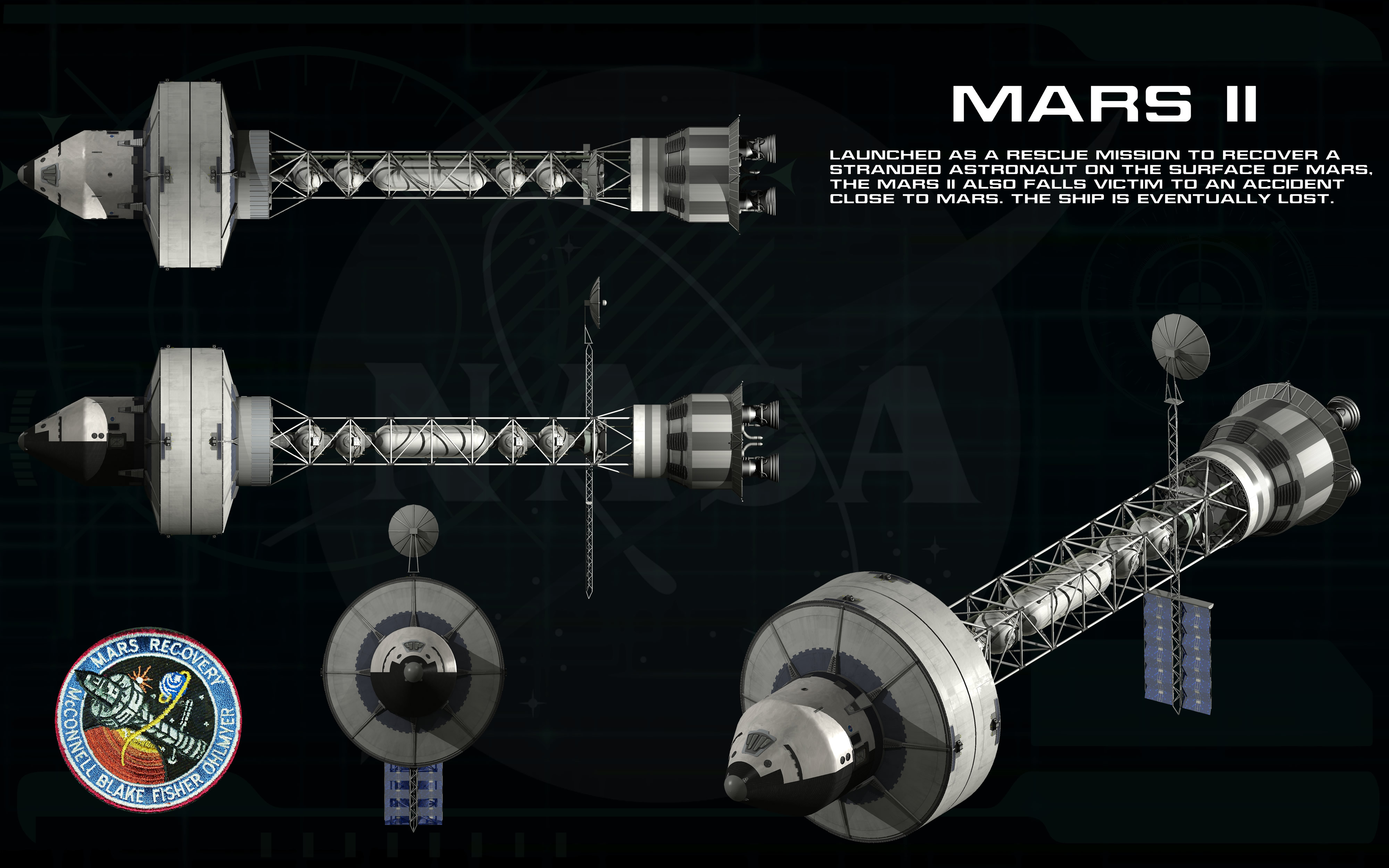 mission to mars concept art - photo #42