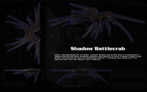 Shadow Battle Crab ortho by unusualsuspex
