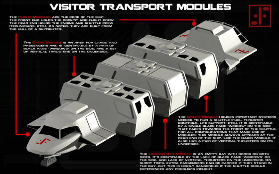 V transport modules