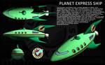 Planet Express Ship ortho