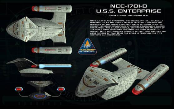 Galaxy class secondary hull ortho