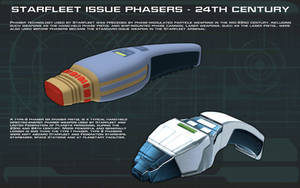 Phasers [24th Century] Tech Readout by unusualsuspex