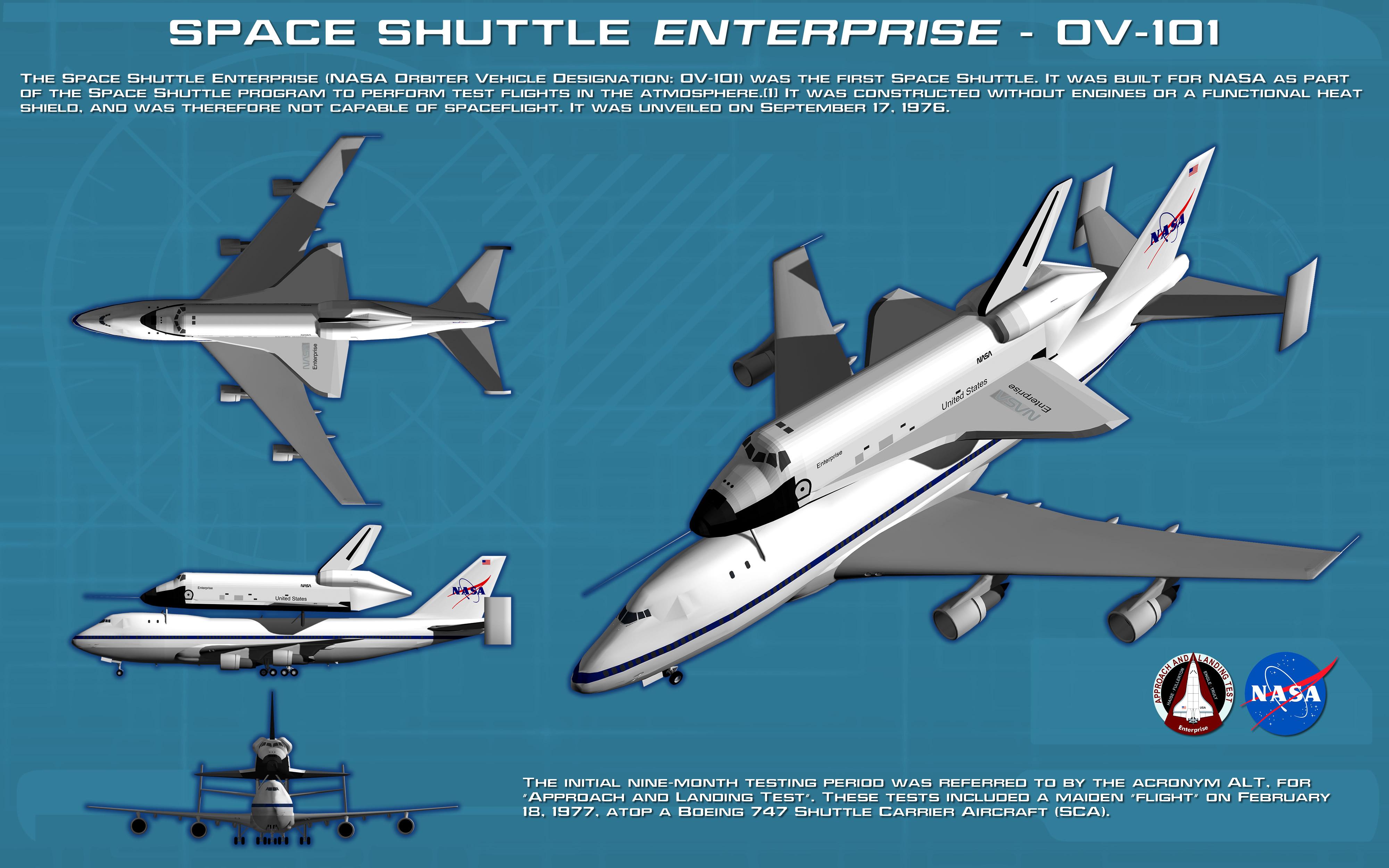 space shuttle enterprise patch - photo #32