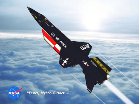 X-15 - Faster, higher, further....