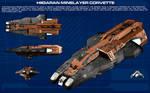 Hiigaran Minelayer Corvette ortho [new]