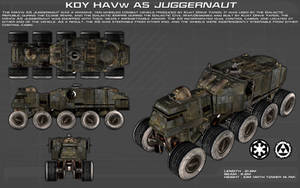 HAVw A5 Juggernaut ortho [new] by unusualsuspex