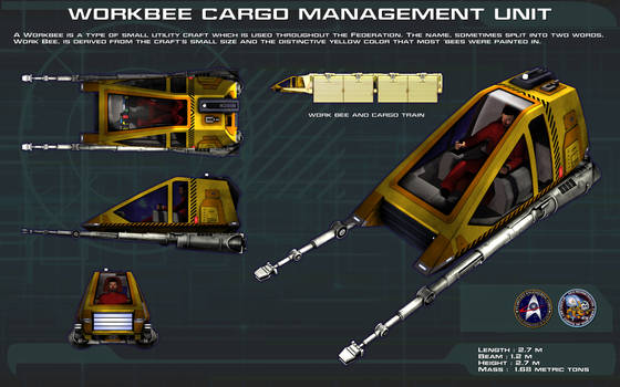 Workbee Cargo Management Unit ortho [new]