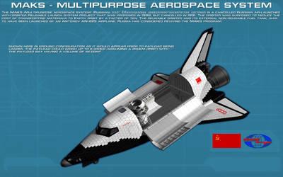 MAKS Multipurpose Aerospace System ortho [2] [new] by unusualsuspex