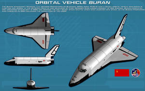 Shuttle Buran ortho [new] by unusualsuspex