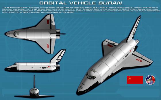 Shuttle Buran ortho [new] by unusualsuspex