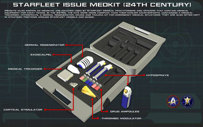 Starfleet Medkit [24th Century] Tech Readout [new] by unusualsuspex