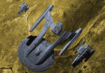 Starships in Action 3 - Akira class