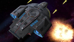 Starships in Action 2 - Defiant class