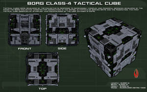 Borg Class-4 Tactical Cube ortho [New] by unusualsuspex