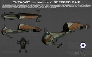 Geonosian Speeder Bike ortho [New] by unusualsuspex