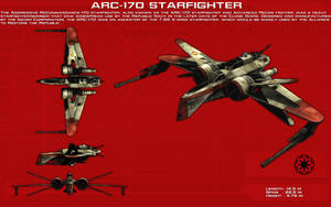 ARC-170 Starfighter ortho [New] by unusualsuspex
