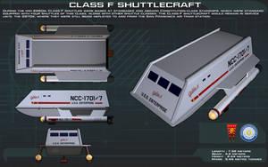 Class F Shuttlecraft ortho [New] by unusualsuspex