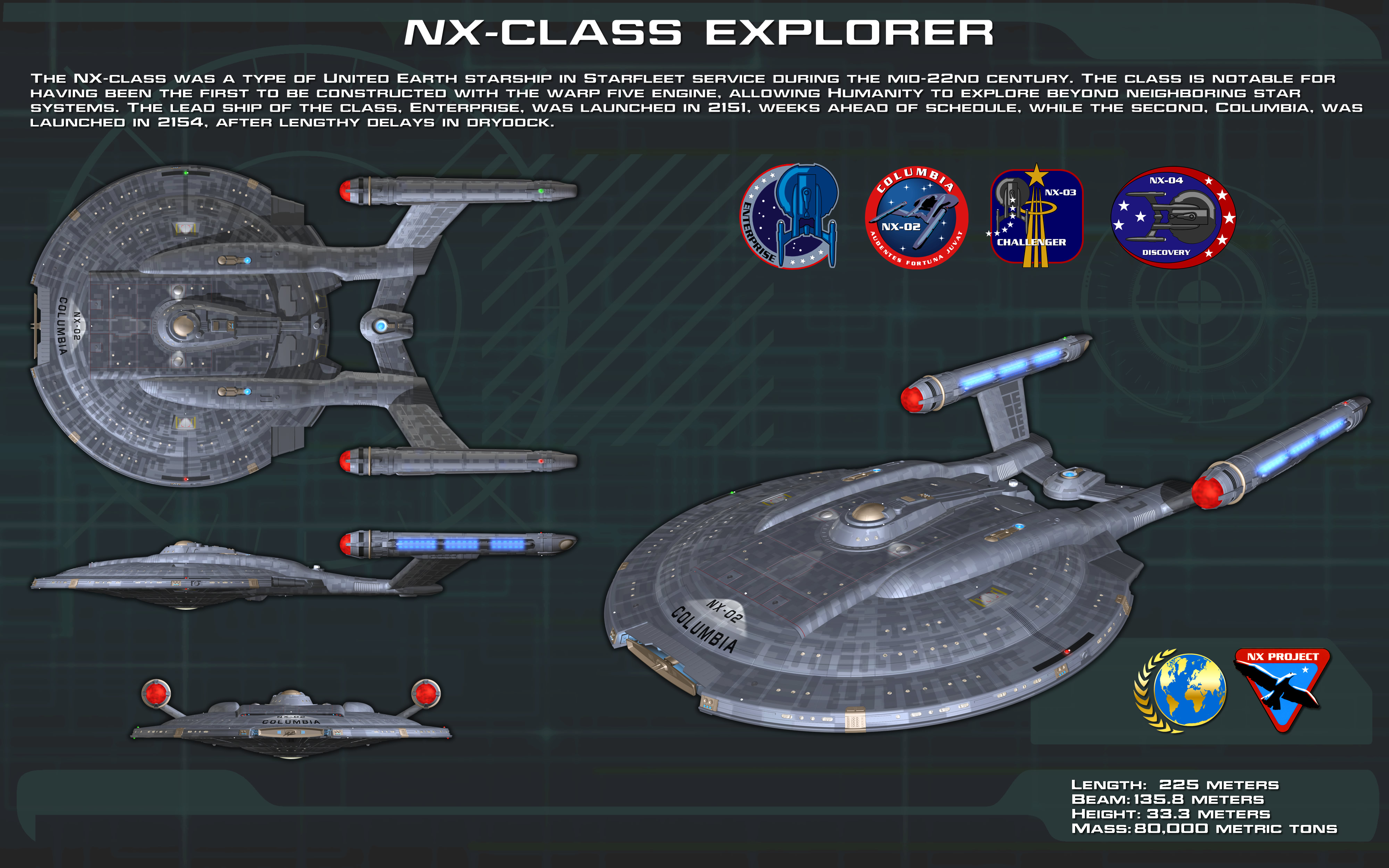 NX Class by FBOMBheart on DeviantArt