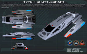Type 11 Shuttlecraft ortho [New] by unusualsuspex