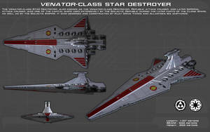 Venator Class Star Destroyer ortho [1][New] by unusualsuspex