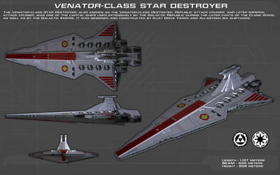 Venator Class Star Destroyer ortho [1][New]