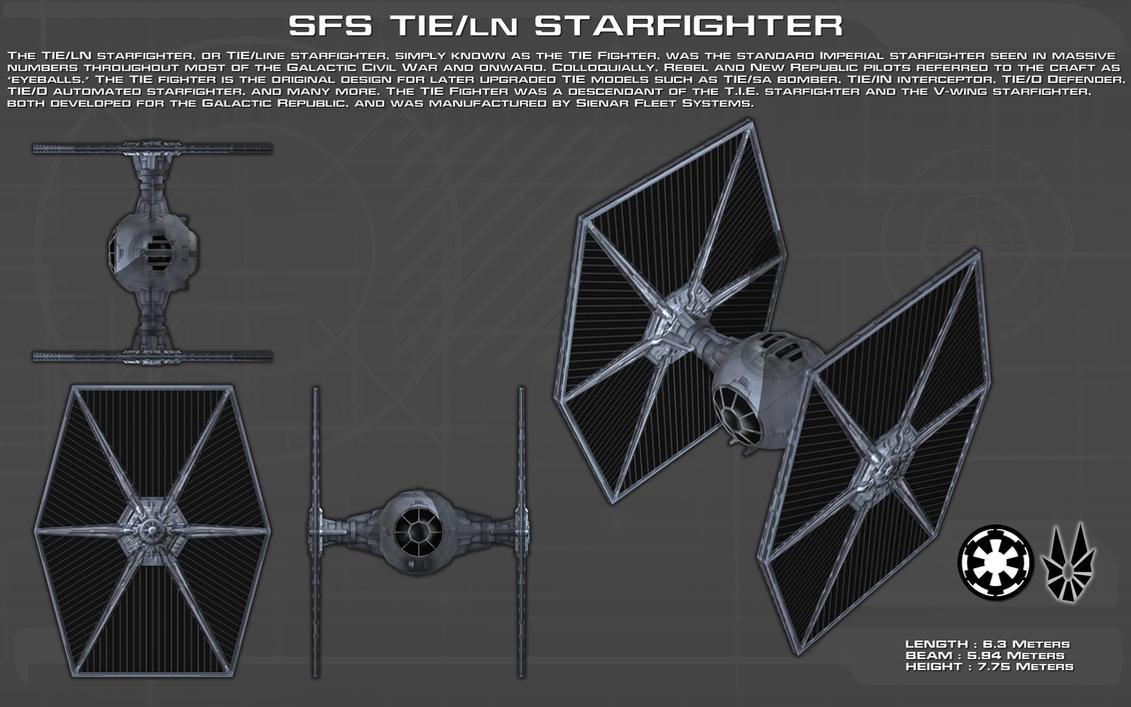 Tie Ln Starfighter Ortho New By Unusualsuspex On Deviantart