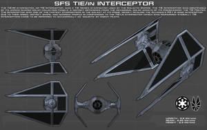TIE/IN Interceptor ortho [New] by unusualsuspex