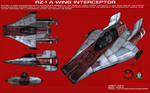RZ-1 A-Wing Interceptor ortho [Updated]