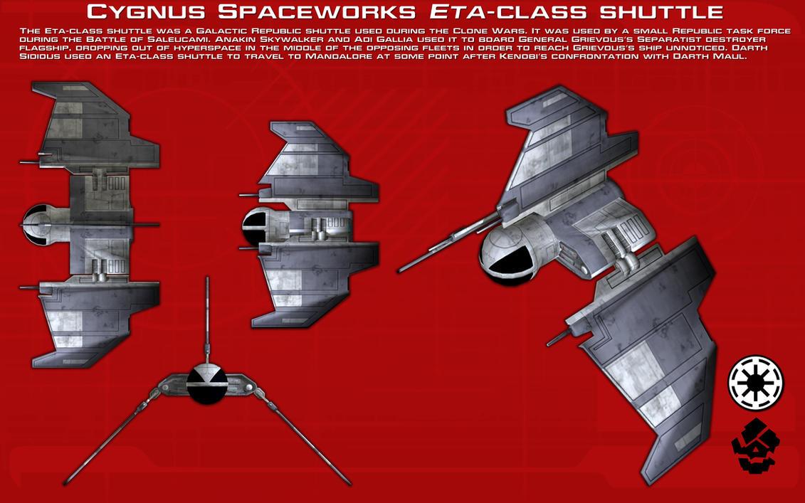 Eta-class shuttle ortho [New] by unusualsuspex