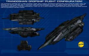Trandoshan Dropship [Flight] ortho [New] by unusualsuspex