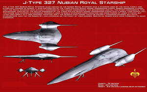 J-type 327 Nubian Royal Starship ortho [New] by unusualsuspex
