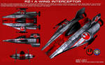 RZ-1 A-Wing Interceptor ortho [2] [New]