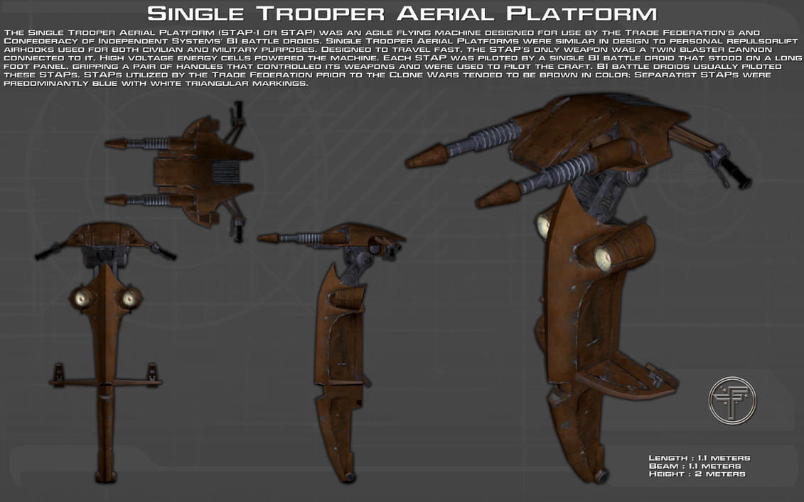 Single Trooper Aerial Platform ortho [New] by unusualsuspex