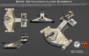Ostracoda-class Gunboat ortho [New]