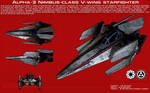 V-Wing Starfighter ortho [2][New]