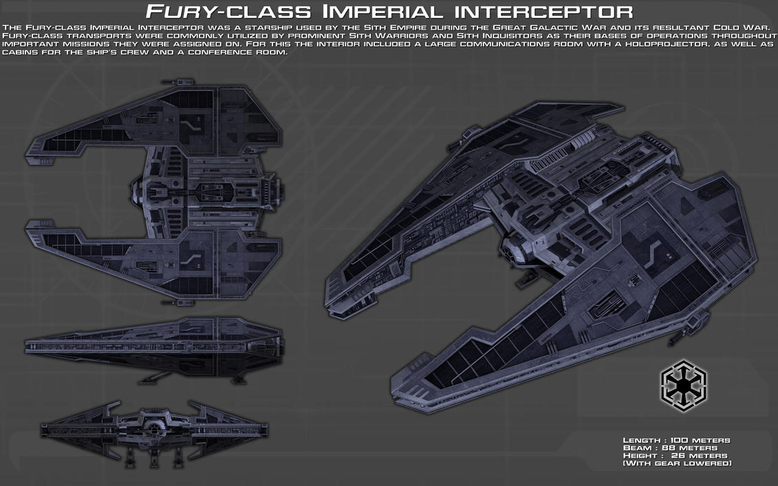 Leri'gan Roth. Fury_class_imperial_interceptor_ortho__new__by_unusualsuspex-d9636n8
