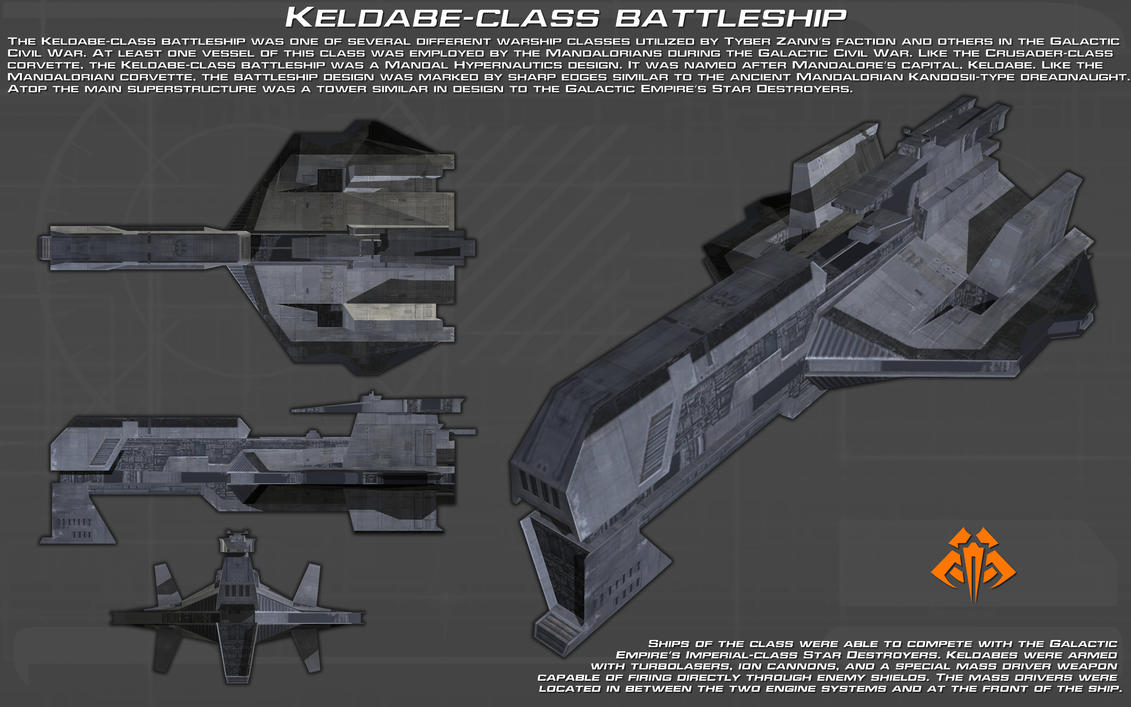 Keldabe-class Battleship ortho [New] by unusualsuspex
