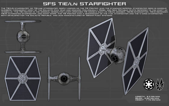 TIE-ln starfighter ortho [Updated][New]