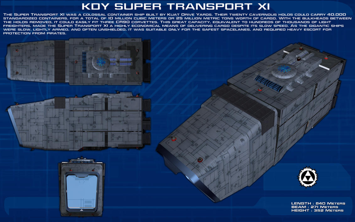 Super Transport XI ortho [New] by unusualsuspex