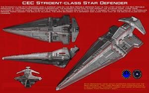 Strident-class star defender orth [New] by unusualsuspex