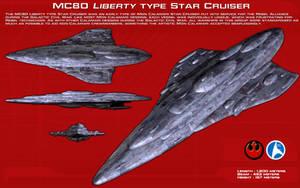 MC80 Liberty type cruiser ortho [New] by unusualsuspex